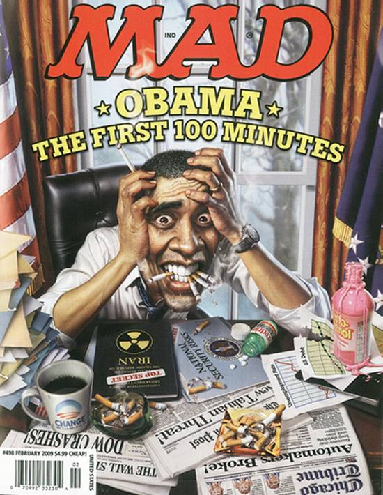 Barack Obama Mad Magazine