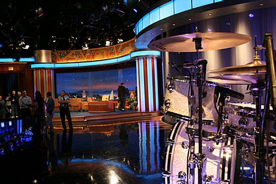 Pop Minute - Conan O'Brien's 'Tonight Show' Set Unveiled ...