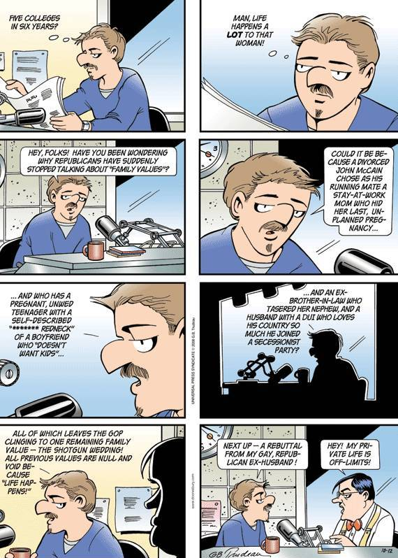 Doonesbury Palin Cartoon