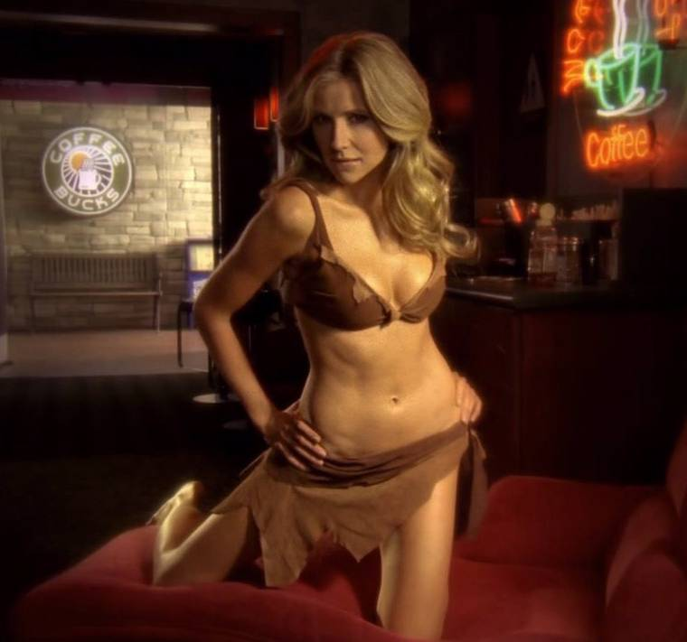 Sarah Chalke Bikini