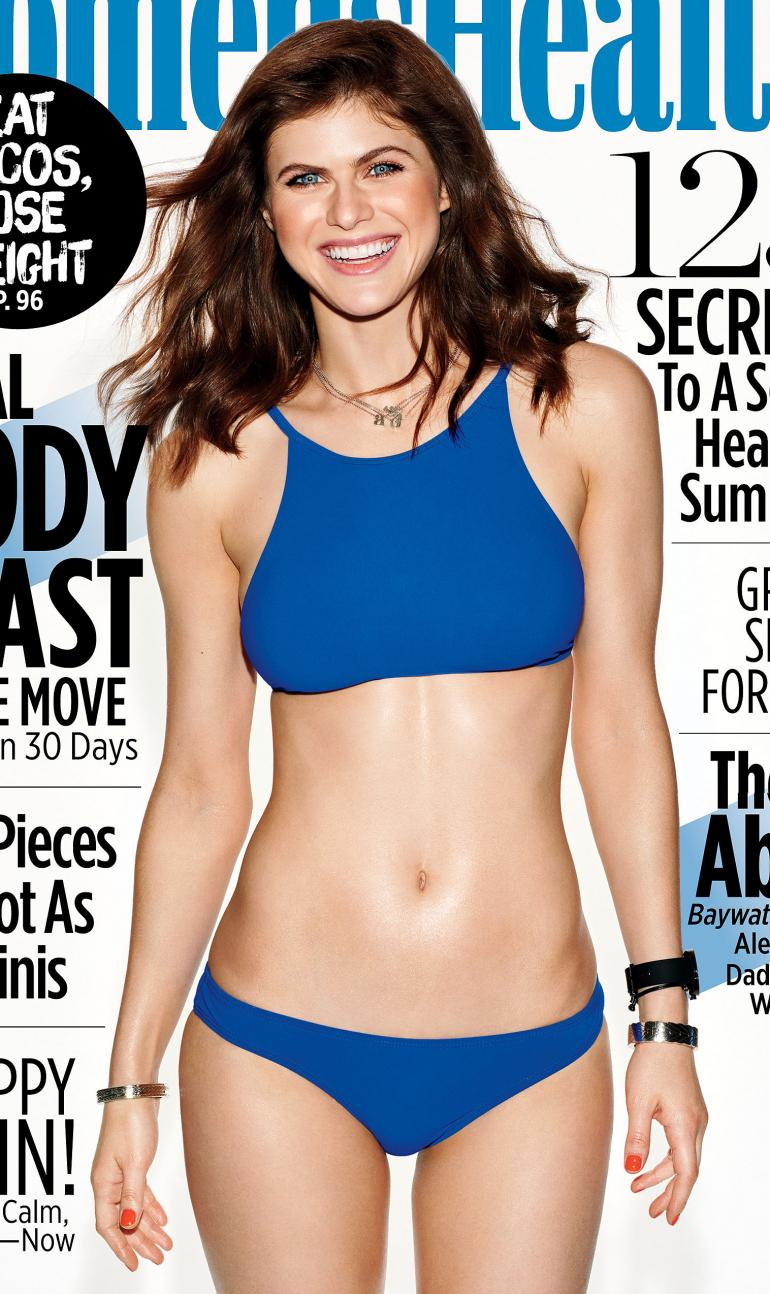Alexandra Daddario Swimsuit Health Body