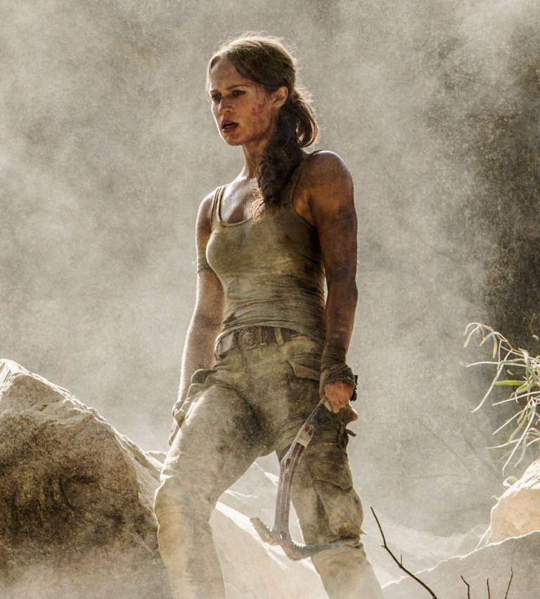 Alicia Vikander Tomb Raider: Alicia Vikander Tomb Raider Photos