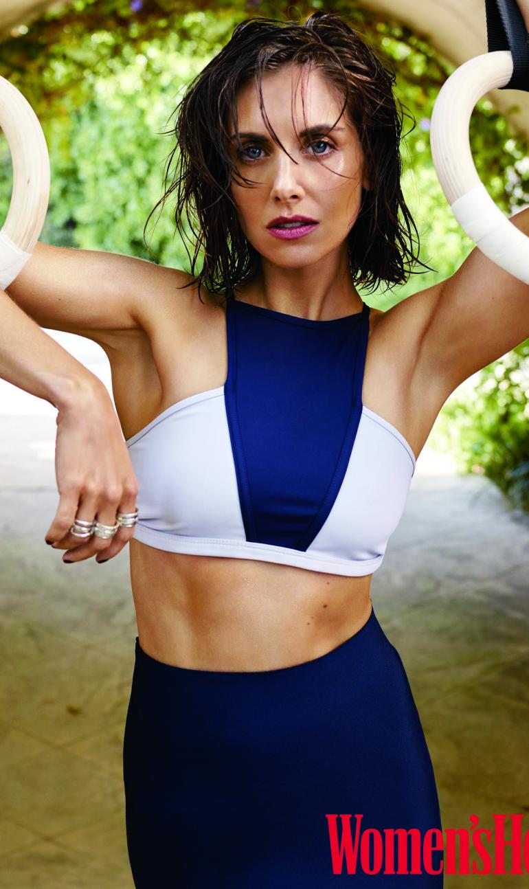 Alison Brie Abs Health Body