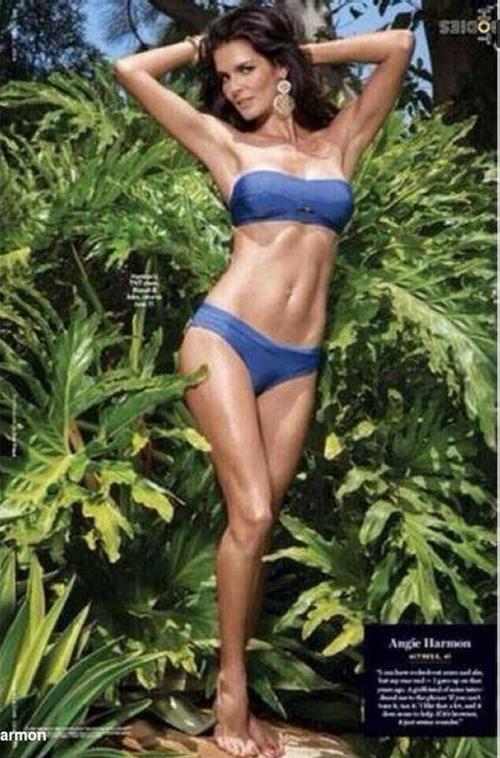 Mario Batali >> Pop Minute - Angie Harmon Swimsuit Summer Photos - Photo 2