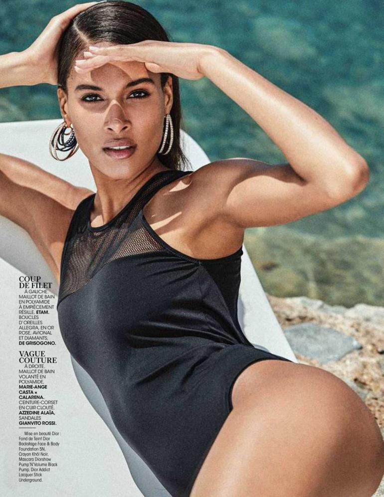 Cindy Bruna Swimsuit Madame Figaro