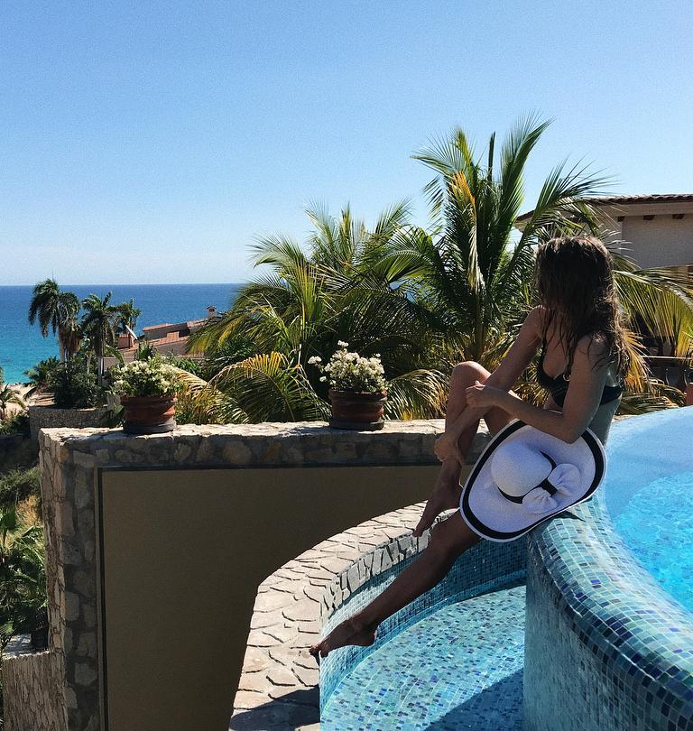 Debby Ryan Swimsuit San Jose del Cabo Body