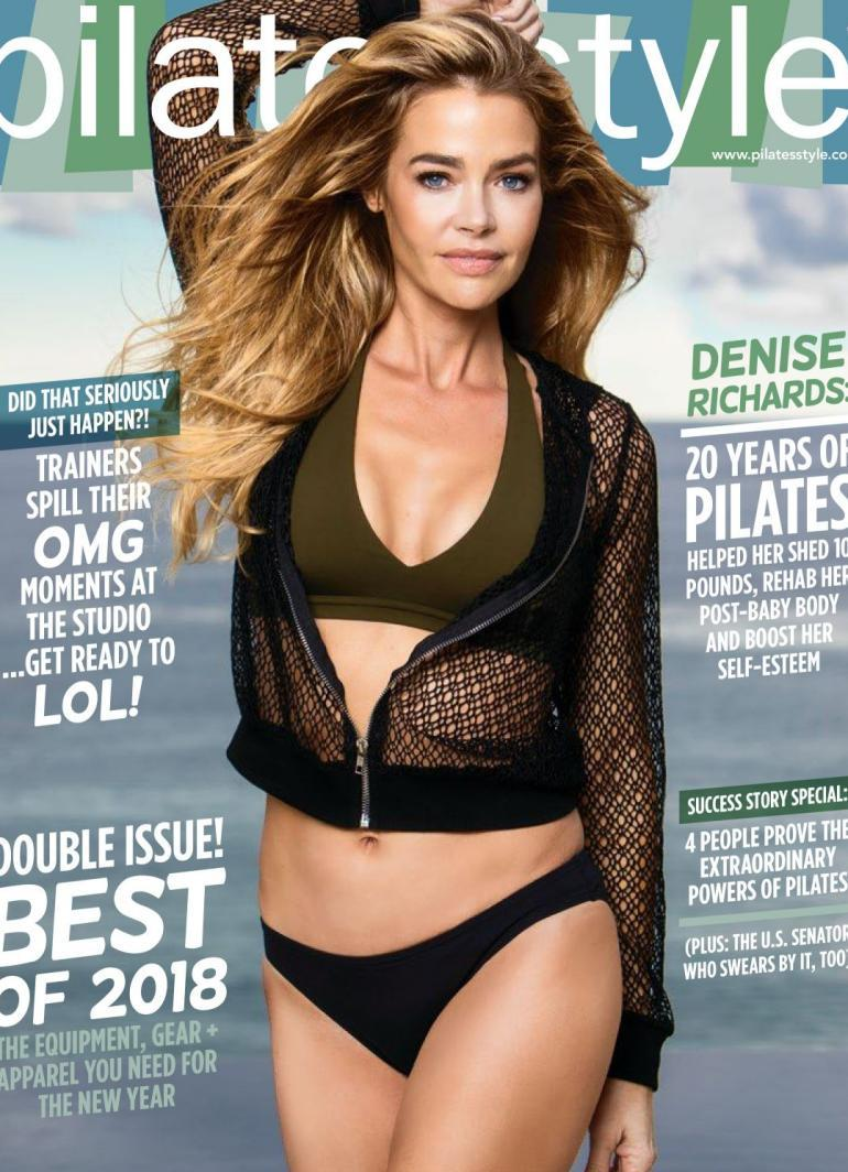 Denise Richards Pilates Abs