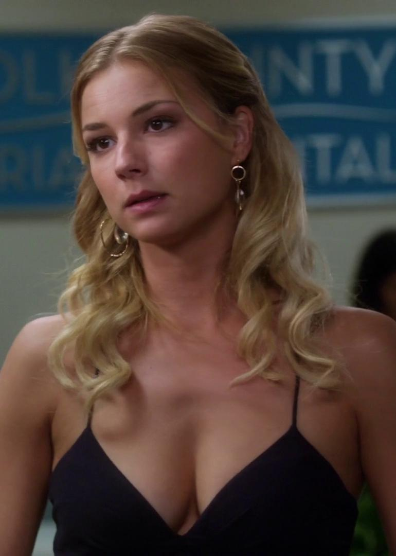 Pop Minute - Emily Vancamp Black Dress Revenge Photos - Photo 19