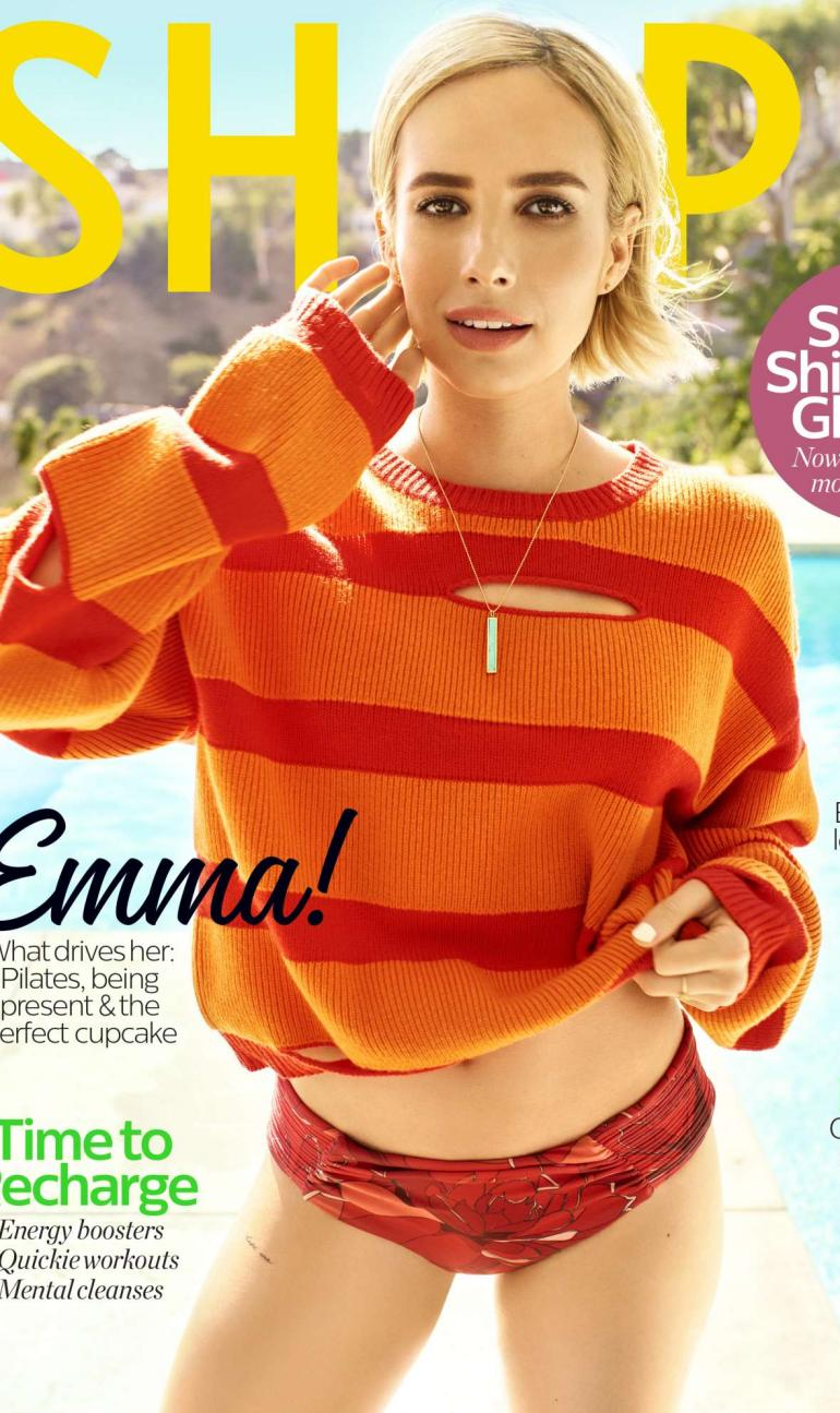 Emma Roberts Swimsuit Shape Body