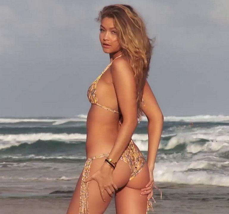 Pop Minute - Gigi Hadid Bikini Horseplay Photos - Photo 9 James Franco Accusations