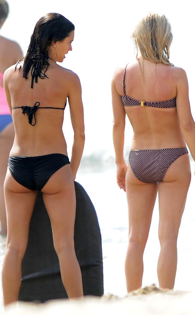 Julianne Hough Off Shoulder Bikini