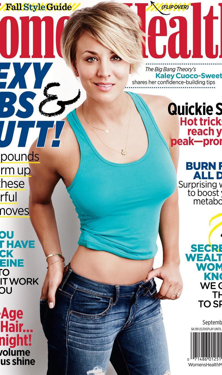 Pop Minute - Kaley Cuoco Jeans Womens Health 2k14 Photos ...