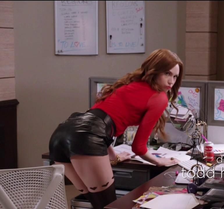 Hot redhead explains why women watch porn - 2 part 8