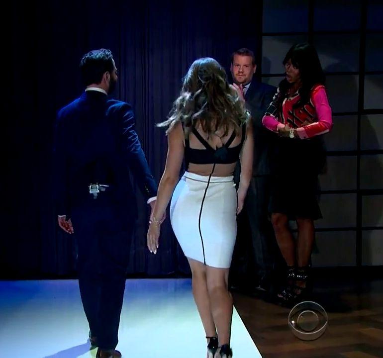 Walk your ass down the runway