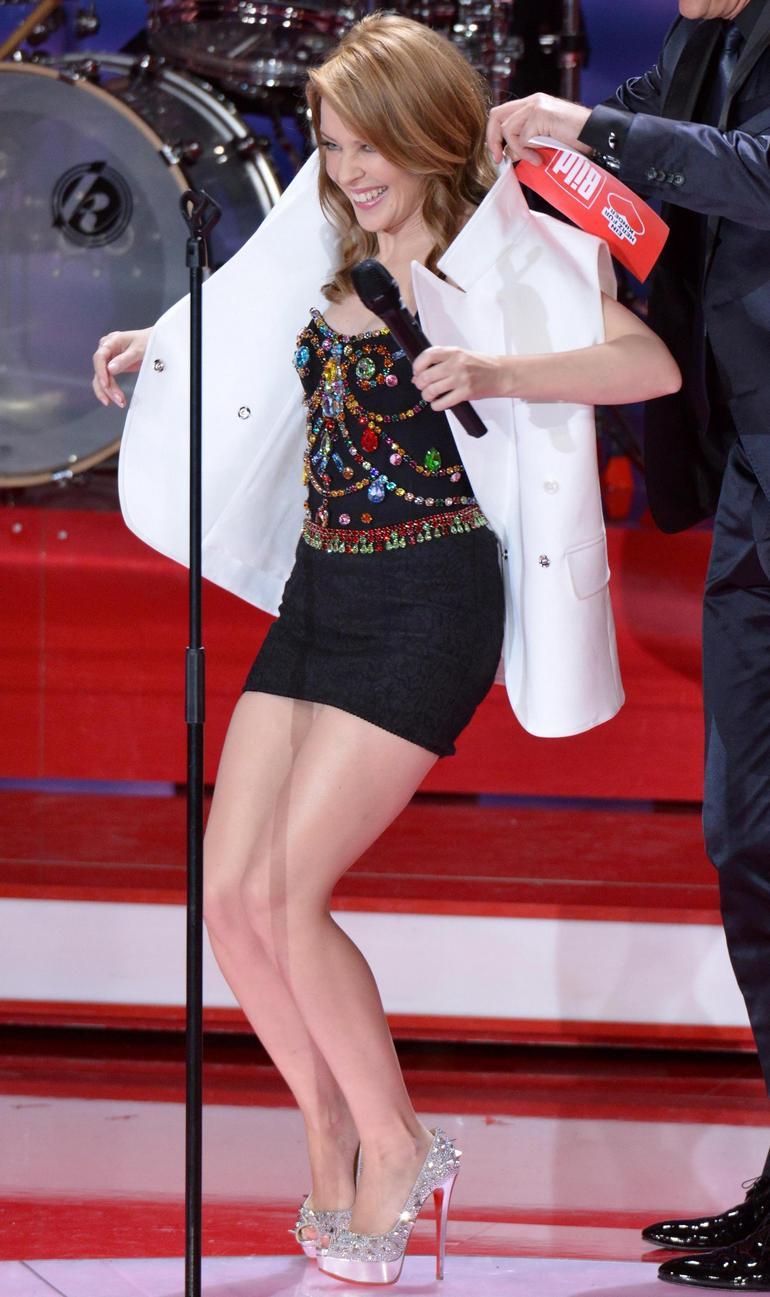 Pop Minute - Kylie Minogue Legs Ein Herz Photos - Photo 8