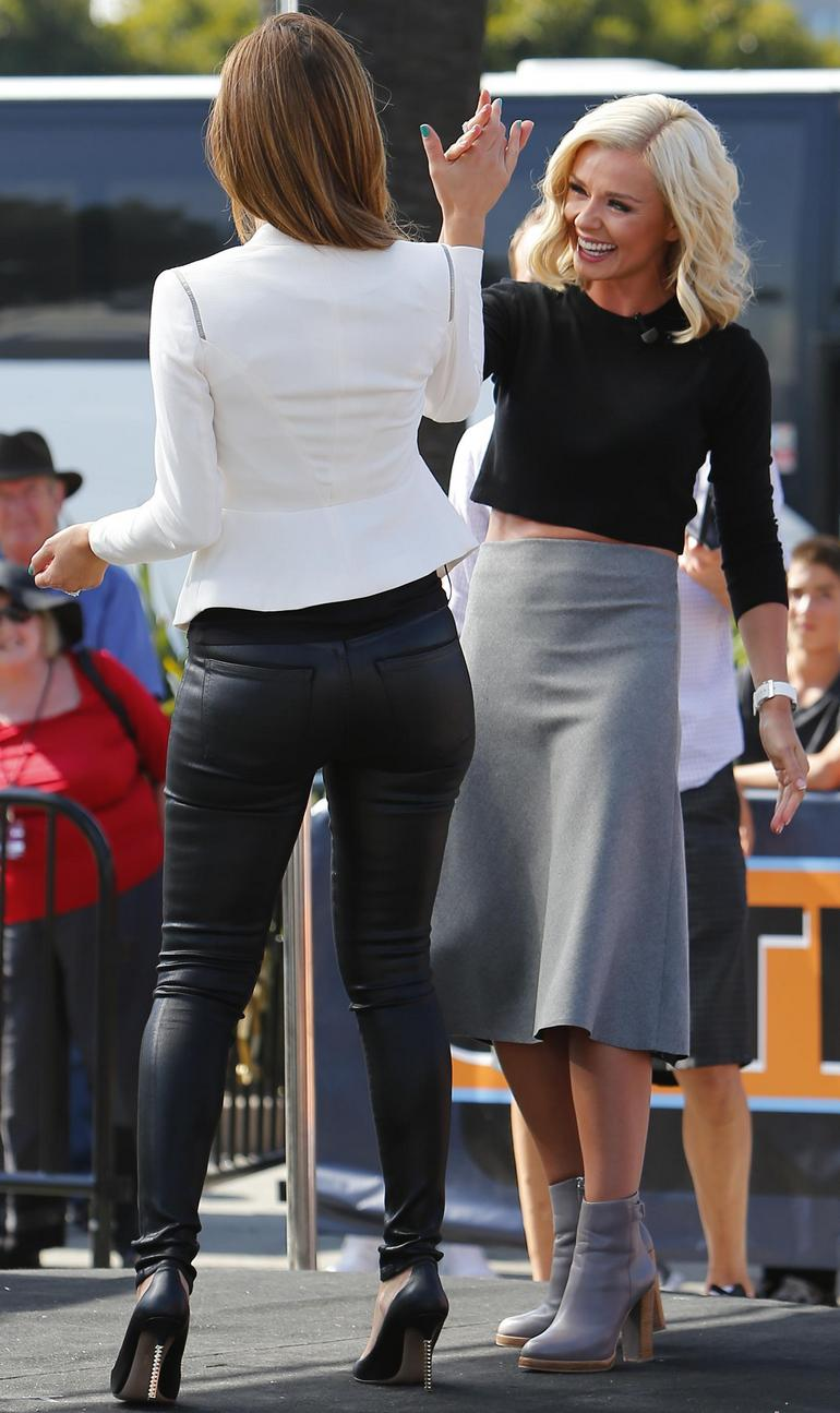 menounos leather ass Maria