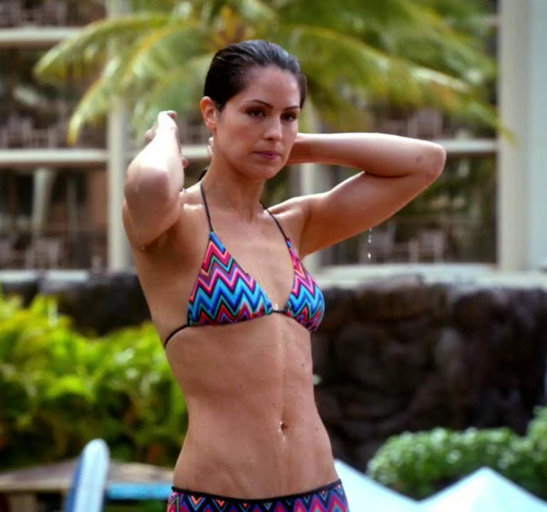 Michelle Borth from hawaii five o
