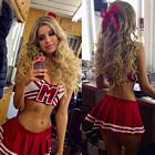 Alexandria DeBerry Cheerleader Outfit