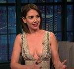 Alison Brie Late Night Interview
