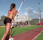 Allison Stokke Pole Vaulting GoPro