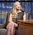 Amanda Seyfried Legs Late Night