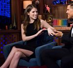 Anna Kendrick Legs Watch What Happens Live