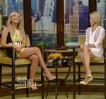 Ashley Benson Legs Live With Kelly Pixels