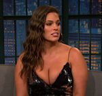 Ashley Graham Cleavage Late Night 3