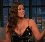 Ashley Graham Cleavage Late Night 4