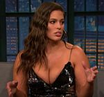 Ashley Graham Cleavage Late Night 7