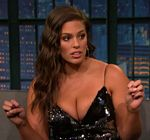 Ashley Graham Cleavage Late Night 8