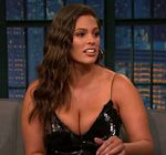 Ashley Graham Cleavage Late Night 9
