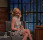 Beth Behrs Late Night Seth Meyers