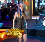 Bridgit Mendler Performance GMA