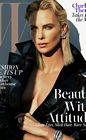 Charlize Theron Leather W Mag