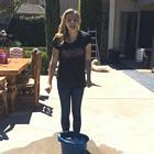 Chloe Moretz Pool Ice Bucket Challenge