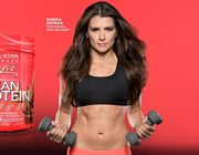 Danica Patrick Fitness Weights 2