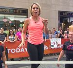 Dylan Dreyer Spandex Today Show
