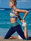 Elsa Hosk Beach Workout Jan 2k15
