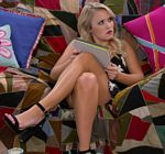 Emily Osment Legs Bad Couch Young Hungry