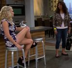 Emily Osment Legs Floral Young and Hungry