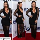 Francia Raisa Black Dress Latina Event