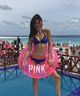 Grace Elizabeth Pink Spring Break Cancun