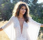 Halle Berry Lace Cape Forest