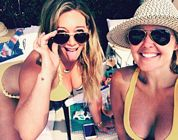 Hilary Duff Bikini Lake Canada 2