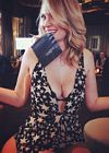 January Jones Las Vegas Nightclub
