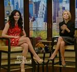 Jenna Dewan Live Kelly Red