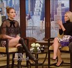 Jennifer Lopez Legs Boots Live With Kelly