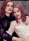 Jessica Chastain Isabelle Huppert Cannes 2