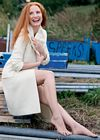 Jessica Chastain Legs Jacket Vogue